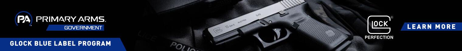 Glock Blue Label Banner