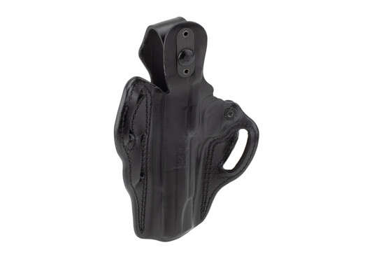 DeSantis Thumb Break Scabbard Holster for 1911 features a form-fitting thumb break pocket with tension screw