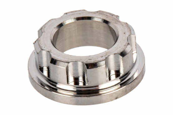 The Lantac Stainless Steel Guide Rod Bushing Adapter is designed for Gen 4 handguns