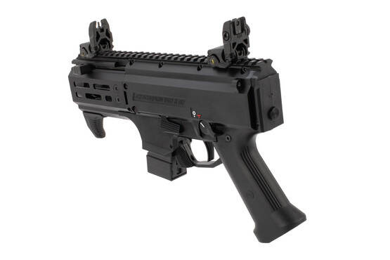 CZ Scorpion Micro 9mm PDW features a 10 round magazine