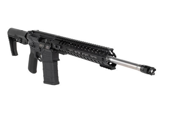 POF USA Rogue ar10 features a micro B muzzle brake
