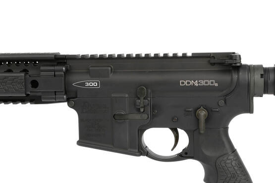The Daniel Defense .300 Blackout SBR comes with a mil-spec lower parts kit