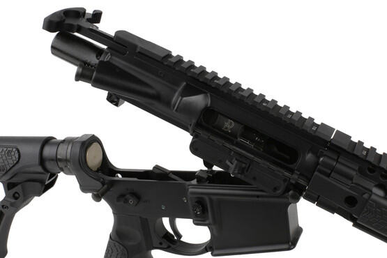 The Daniel Defense 5.56 AR-15 SPR comes with a magnetic particle inspected bolt carrier group