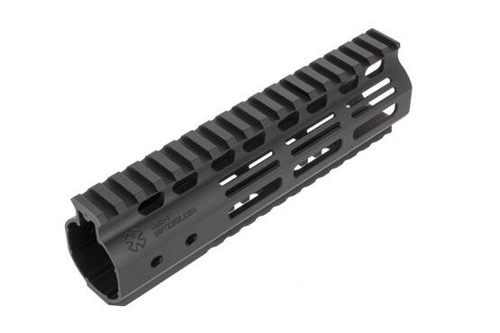 Noveske 7in NHR M-LOK Hybrid AR-15 handguard installs easily and securely with a rigid barrel nut system
