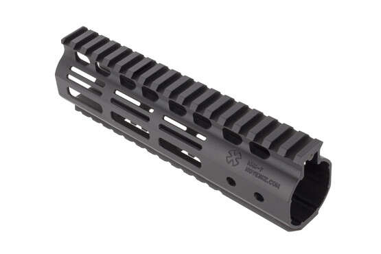 Noveske 7in Hybrid M-LOK Rail for the AR-15 combines an ergonomic and narrow M-LOK handguard with full length pic rails