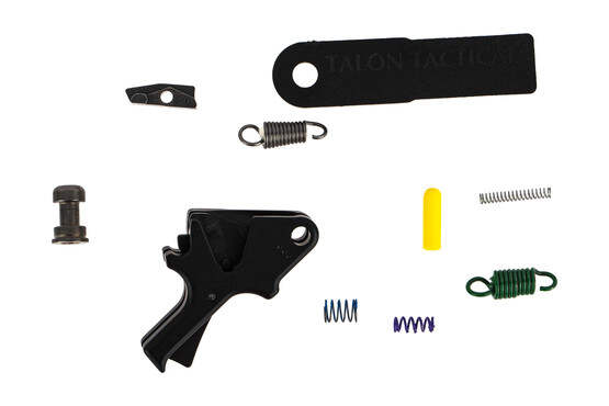 The Apex Tactical M&P Flat Faced Trigger and Sear Kit comes with all you need to reduce the pull weight