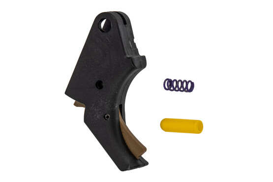 Apex Tactical M&P Polymer Action Enhancement Trigger features flat dark earth safety