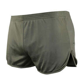 Condor Running Shorts in Olive Drab Green features Nylon mesh fabric
