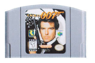 Violent Little Machine Shop Goldeneye 007 N64 PVC Morale Patch