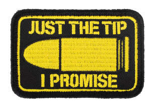 Violent Little Machine Shop Just The Tip PVC Morale Patch