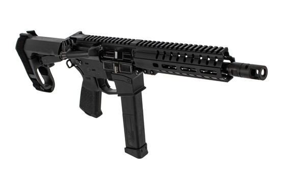 "CMMG Banshee 200 MK10 AR pistol in 10mm auto with 8"" barrel and black finish"