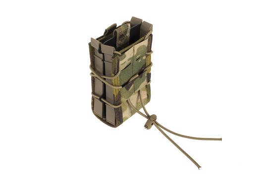 High Speed Gear X2R TACO Double Rifle Mag Pouch MOLLE MultiCam