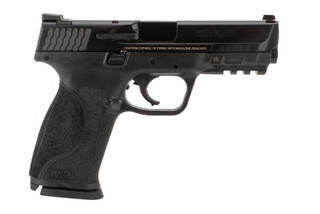 M&P M2.0 9mm Compact Pistol from Smith & Wesson has an aggressive grip texture