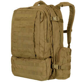 Condor 3 day assault pack in coyote brown