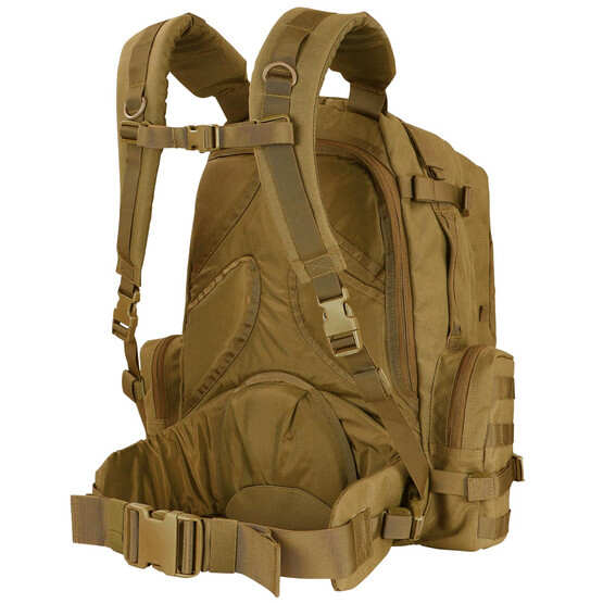 Condor 3 day assault backpack features padded straps