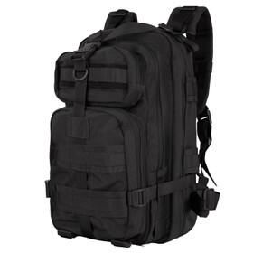 Condor Compact Assault Pack in Black has multiple storage compartments