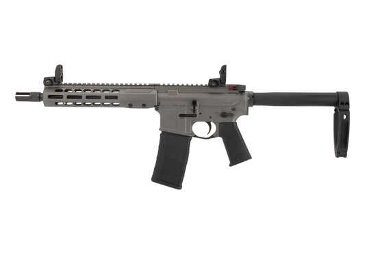 Barret REC7 AR15 pistol comes with a gearhead works arm brace