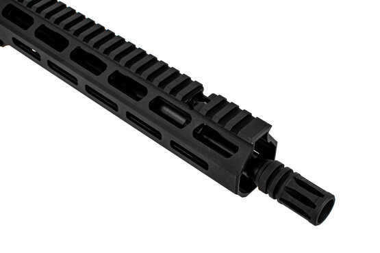 Primary Weapon Systems MK111 Pro piston upper AR15 features an A2 flash hider