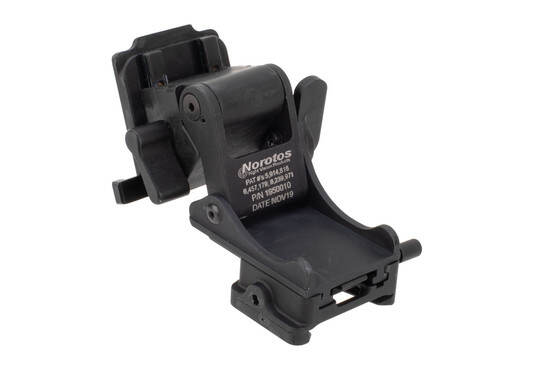 Norotos RHNO II nightvision mount features a dovetail attachment