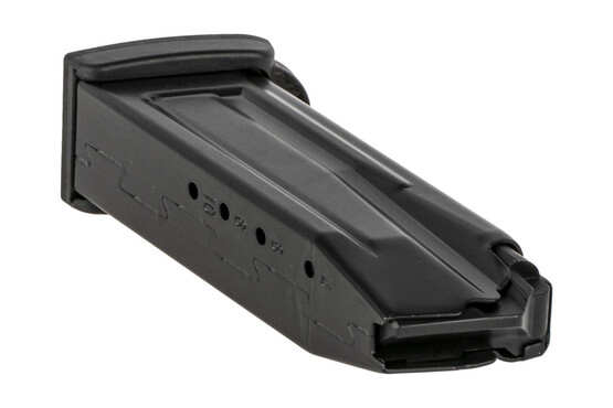The Heckler and Koch VP9SK 9mm magazine features rear witness holes