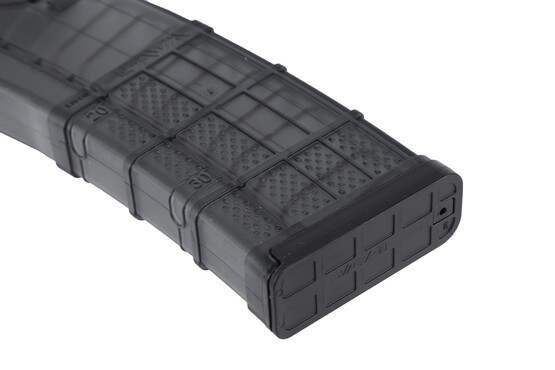 The L5AWM AR 15 Magazine for 5 56 NATO and 223 from lancer systems with 30 round capacity and clear polymer made in usa