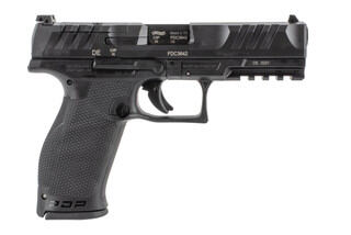 Walther PDP 9mm pistol full size features an optic ready slide