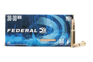 Federal PowerShok 30-30 winchester ammunition features a jacketed soft point