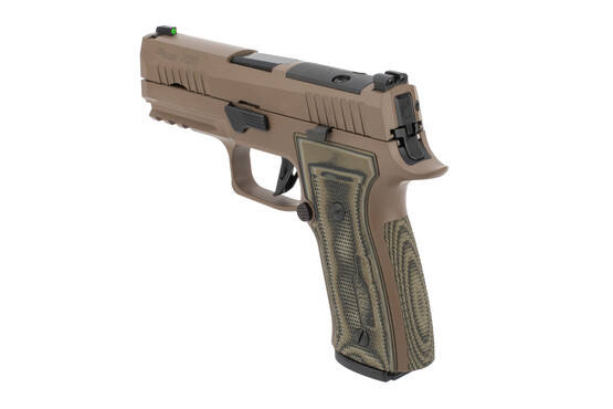 P320 AXG Scorpion 9mm Pistol from SIG Sauer includes X-Ray Day and Night sights