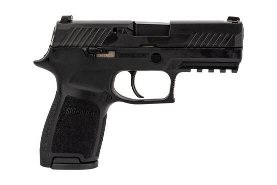 SIG Sauer P320C compact 9mm pistol with 15-round magazines and night sights