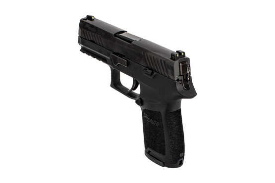 SIG Sauer P320C with 3-dot night sights and extended mag release
