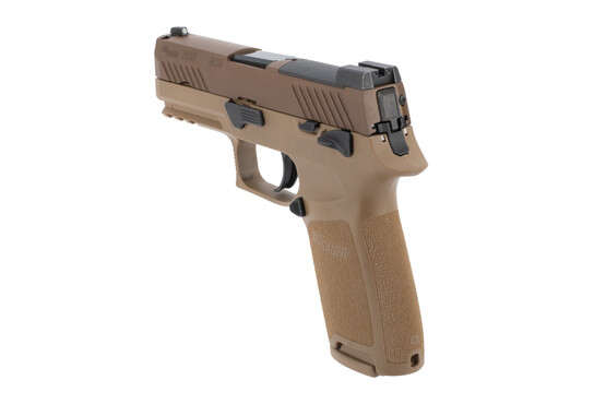 SIG Sauer P320 M18 9mm Optics Ready Pistol includes SIGLITE front and night sights