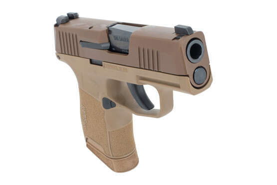 NRA edition Sig p365 in coyote