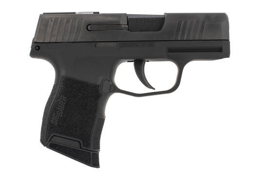 SIG Sauer P365 SAS micro compact 9mm pistol with low profile sights and unported slide