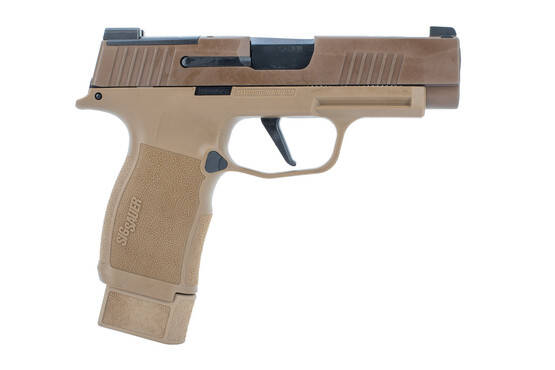 NRA edition Sig p365xl in coyote