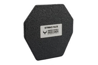 AR500 Level III armor plate features a flat profile
