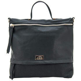 Cameleon Bags Aphrodite Concealed Carry Purse in Black has two exterior zippers