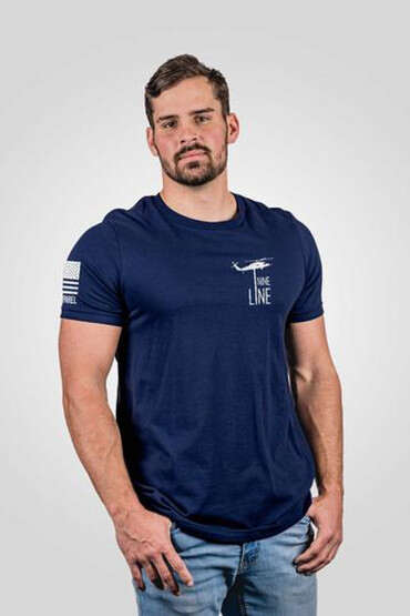 Nine Line 5 Things Short Sleeve T-Shirt in Navy