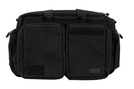 511 Tactical Side Trip Briefcase range bag is made from black Nylon