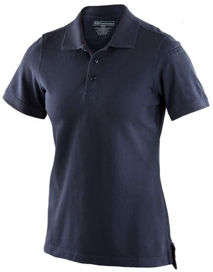 5.11 Women's Tactical Performance Short Sleeve Polo in Dark Navy
