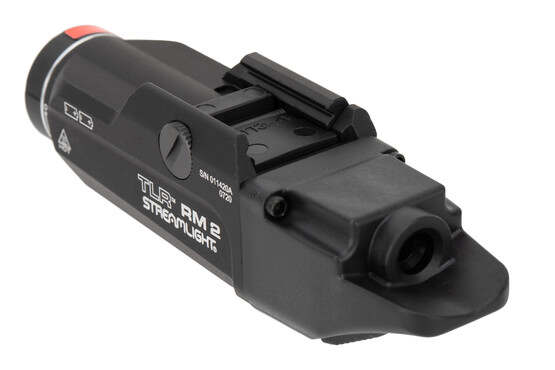 Streamlight TLR RM2 light features an aluminum housing