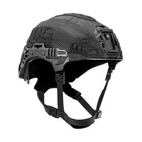 Team Wendy EXFIL Carbon/LTP Rail 3.0 Helmet Cover in Black