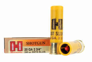 Hornady SST 20 gauge sabot slug features the flex tip expanding bullet