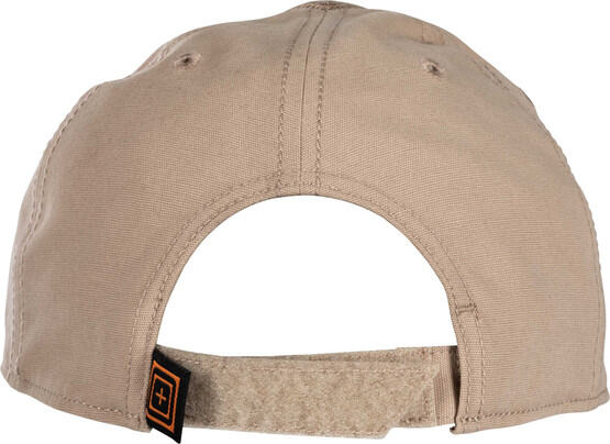 5.11 Tactical Flag Bearer Scope Cap in khaki, rear view