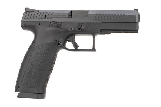 CZ P10 F 9mm Pistol features a 19 round capacity