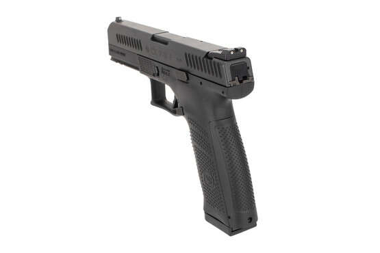 CZ USA P10 F pistol features night sights