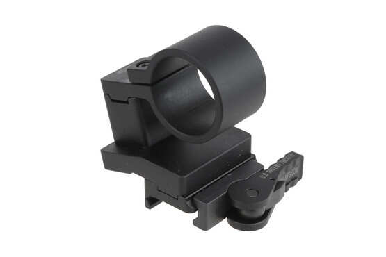 The American Defense Manufacturing 30mm magnifier swing mount is machined from 6061 aluminum