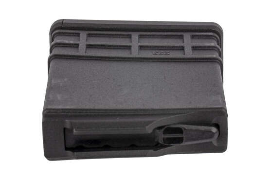 The American Built Arms polymer 20 round magazine is also compatible with .300 blackout cartridges