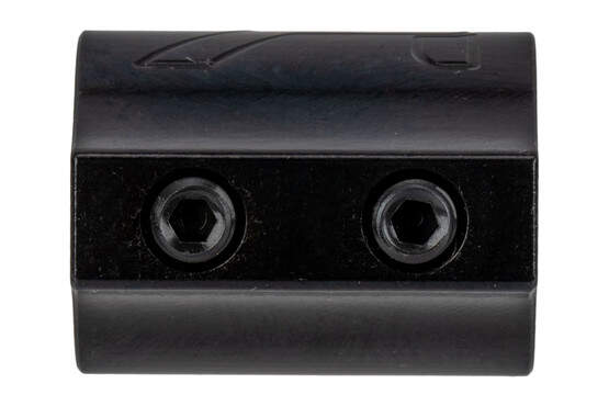 "Aero Precision set screw low profile .625"" gas block features a nitride finish."