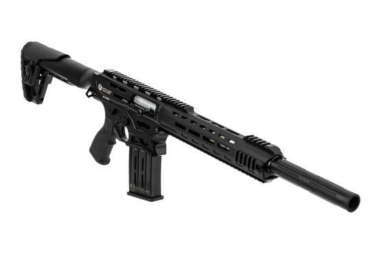 Panzer Arms AR12 Pro semi auto shotgun features a 20 inch barrel
