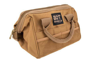 Bulldog Cases Ammo & Accessory Bag in Tan features heavy-duty reinforced handles